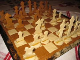 gingerbread chess... by Ametyr
