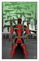 Deadpool Print by calslayton