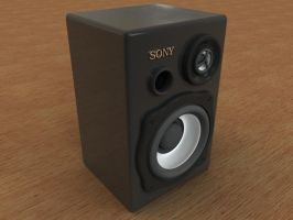 Sony Speakers by AndyBuck