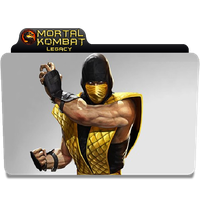 Mortal Kombat Icon Folder by euterpemusa