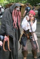 Jack Sparrow meets Davy Jones brother? by CaptJackSparrow123