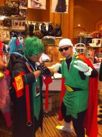 First pic of the day: Great Saiyaman(AFest 2014) by Hound-02