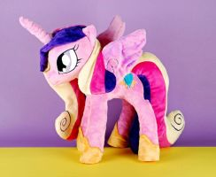 Princess Cadence Plushie by Eveningarwen