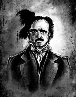 I am the Raven - Edgar Allan Poe by 6amcrisis