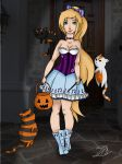 Witch for Halloween Again by Musicallychalanged