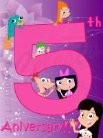 5th aniversary :D by celesteyupi