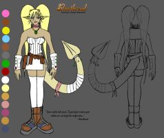 Shortbread - Character Sheet by Lomebririon