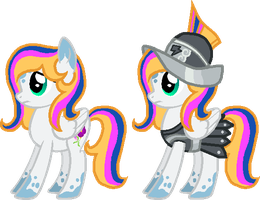 Private Prancing Pansies by StarryOak