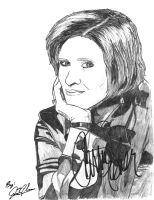 Carrie Fisher by NewEraUsher