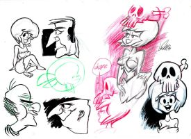 Sketch Bunch 13 by luismario