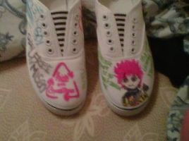 hide shoes i made i made i did by XxhideFreakxX
