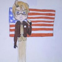America by dawnflower8
