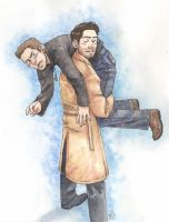 Dean+Cas by ScuttlebuttInk
