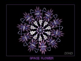 Space Flower by D34D