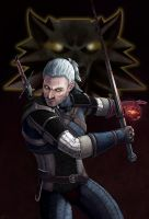 Geralt of Rivia by Ladyghoul
