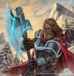Axe of Cold by Fredhild