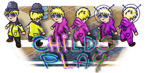 Global Game Jam 2015 - Child's Play game, The Girl by MADrussky