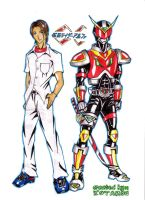 Kamen Rider ALpHA by tendou
