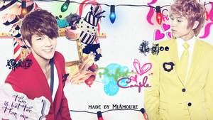C.A.P and L.Joe Wallpaper by MiAmoure