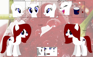 Cherry Dairy ~Official Character Ref~ by Winter-Wondermare