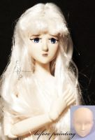 Lady Amalthea OOAK doll by lulemee