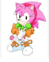 Classic Amy quick sketch by SMSSkullLeader