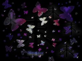 Butterfly Forest by Miarath