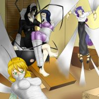 Spiders in the Attic by spiderweber