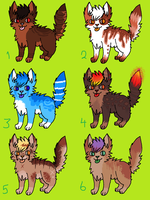 [OPEN] Unsold Adoptables #2 (Name Your Price) by Cherry-Adopts