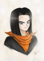 Android 17 by rains-hand19