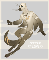 Mantelbeast DTA - Otter Love (CONTEST CLOSED) by King-Chimera