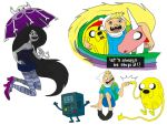 Adventure time doodles by DitaDiPolvere