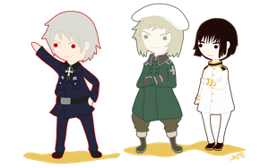 Prussia Swiss Japan by ZAHMB