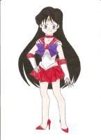 Sailor Mars by animequeen20012003