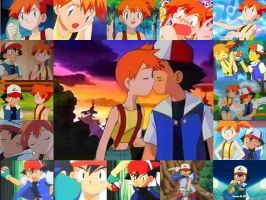 Ash x Misty by Love-Generation