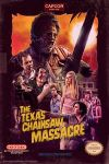 Texas Chainsaw NES Box by Spaceboycomics