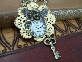 Steampunk Fairy Necklace by SteamPunkJennie