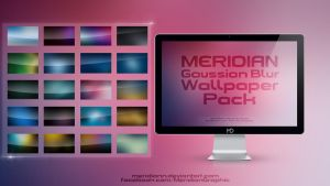 FREE Meridian Graphic Gaussian Blur Wallpaper Pack by Meridiann