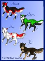 Wolf Charies C: by SilverRiverWolf