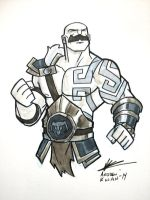 Braum Commission by AndrewKwan