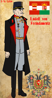 Count Ludolf von Freindamentz by fORCEMATION