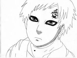 Gaara: Picture of Kazekage by Kiranaomipartners