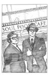 Blues Brothers Cover Pencil by anthonymarques