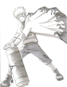 the fourth hokage by eekster