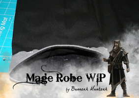 Stage 11: Mage Robe WIP by Bunneahmunkeah