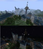 New Terrawood City w/ Texture Pack by C-MaxisGR