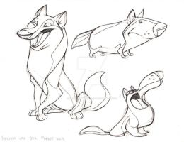 Canine Designs by sketchinthoughts