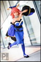 Caster - Fate / Extra CCC by emptyfilmroll