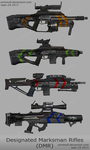 Designated Marksman Rifles by primnull