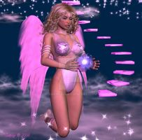 Sweet Pink Angels Prayer by Saphy35